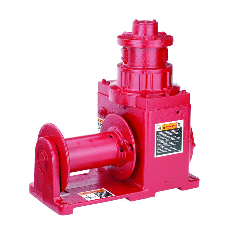 Thern 2000 lb Pneumatic Helical Worm Gear Power Winch