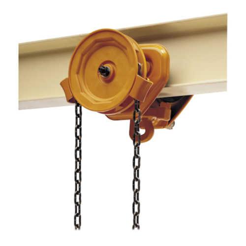 NERM050L-L-10 5 Ton Harrington 10 ft Lift Part No w// Motorized Trolley 40 fpm NERM Electric Chain Hoist