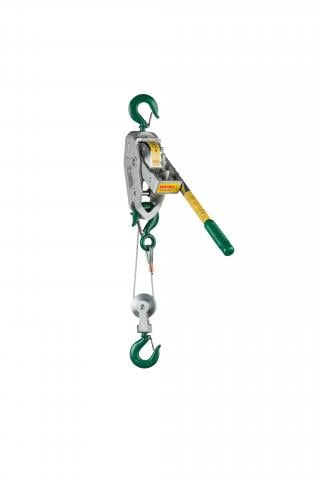 Lug-All 1/2-Ton Cable Puller / Ratchet Lever Hoist, Small