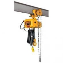 Harrington 1/4-Ton Electric Hoist, 15', Gear Trolley, SNERG003S-15 photo