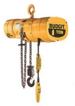 Budgit 3-Ton Electric Hoist, 15' Lift, Hook, BEHC0305-15-H3  photo