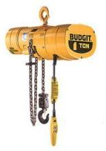 Budgit 3-Ton Electric Hoist, 10' Lift, Hook, BEHC0305-10-H1 photo