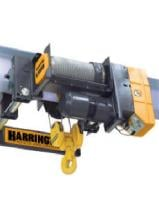 Harrington 5-Ton Rhino Series Wire Rope Hoist, 33' Lift, 460V photo