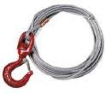 Thern Wire Rope Assembly, 1/4