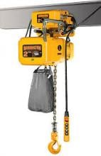 Harrington 2 Ton Electric Hoist, 15', Motor Trolley, NERM020C-S-15 photo