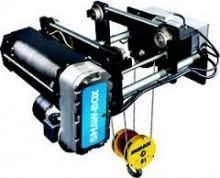 Shaw Box 5-Ton Wire Rope Hoist, 40\' Lift, WB3M05-040S20-2