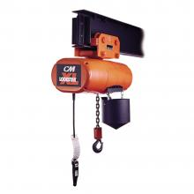 Lodestar xl 2 ton electric hoist 20 39 lift push trolley for 2 ton hoist with motorized trolley