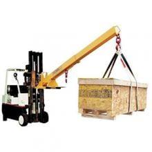 Caldwell Forklift Boom, 4000 lb, Pivoting, Swivel Hook, Model Pb photo